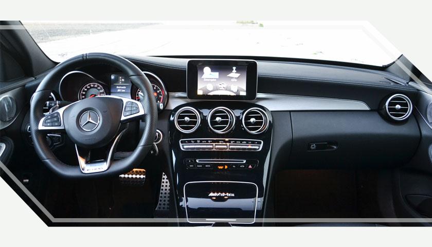 Mercedes C Klasse 63 AMG - Premium Sports Cars Rental