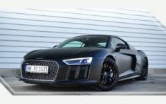 Audi R8 V10 Plus Matt Schwarz